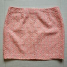 GAP Pink Jacquard Women's Skirt Size 12 RN# 54023 CA# 17897 Fall 2012 collection