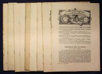 Mitteilungen des Vereins für Sächs. Volkskunde & Volkskunst 9 Hefte 1902-1916 sf