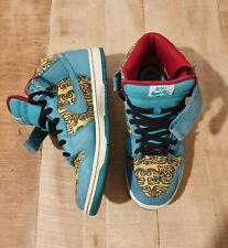 Nike Dunk Mid Premiun SB Peacock USA 11.5 EUR 45.5 supreme Air Force 1 Jordan
