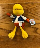 """1998 General Mills Cocoa Puffs Sonny The Cuckoo Bird Plush Toy 9"""" New"""