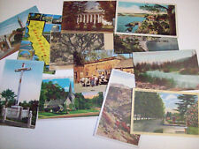 60 CALIFORNIA POSTCARD VIEWS - MIXED AGES