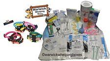 Deluxe Kit Warwick CUCCIOLI scatole ™ LATTE PER CUCCIOLI ROYAL CANIN 12 x Collari ID Cucciolo
