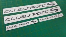 VW Polo Golf Passat Club Sport S decals stickers any colour Volkswagen Gti