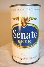 Senate Beer 12 oz. 1940's Irtp flat top from Washington, D.C.