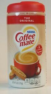 Nestle Coffee Mate Coffee Creamer Powder Original 6 oz The Original Lactose Free