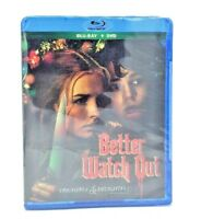 Better Watch Out (Blu-ray+DVD, 2017: 2-Disc Set) NEW   Holiday Horror