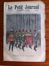 ?Le petit Journal illustré 6/02/1892; Obsèques du duc de Clarence