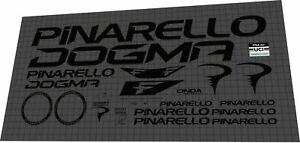 2022 Pinarello DOGMA F black DECAL SET