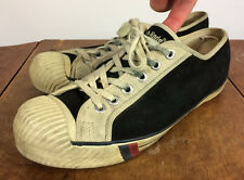 Rare Vintage 60s 70s Shell Toe Pro Keds Leather Canvas Low Athletic Shoes Usa