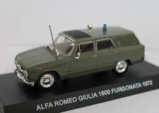 Alfa Romeo Giulia 1600 Furgonata Carabinieri 1972 Edicola 1:43 CARAB033
