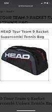 Head Tour Team 9 Racket Supercombi Unisex Tennis Bag 2020