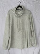 Women's 32 DEGREES Funnel Neck Pullover Top SIZE XXL White/Beige