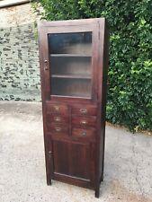 Large Hardwood Display Draw Cabinet Cupboard