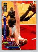 1995-96 Upper Deck Fun Facts Michael Jordan #169 Original