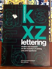 Lettering Studies and Research on the Evolution of Writing.. PB Free Shipping