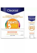 Clearasil Stubborn Acne Control 5in1 Concealing Treatment Cream, 1 oz - 2 Pack