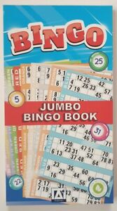480 Bingo Game Single Ticket Card Flyer Pads Book Party 6 tickets per page