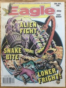 Eagle 29/7/89 Dan Dare, Doomlord, Computer Warrior, Kitten Magee, IPC UK comic