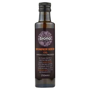 Biona Organic Pumpkin Seed Oil x 250ml (2 Pack)