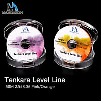 Maxcatch Tenkara Level Line 50M Fluorocarbon Fly Fishing Line