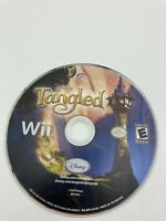 Nintendo Wii Disc Only Tested Disney Tangled Ships Fast