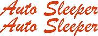MOTORHOME CAMPER VAN CARAVAN / STICKERS /DECAL / GRAPHIC / AUTO SLEEPER CUTOUT