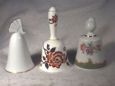 """3 Danbury Mint """"Bells of the World Collection�, Japan, Germany, England"""