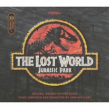 SEALED 3D Pop-Up Dinorama Package JOHN WILLIAMS Jurassic Park The Lost World CD