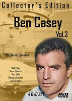 Ben Casey-20 Classic Episodes -4 DVD-R Set-Volume THREE