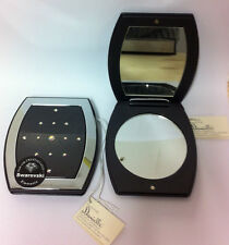 3 SWAROVSKI COMPACT MIRRORS - CLEARANCE PRICE - GREAT GIFTS OR TREAT FOR SELF!