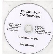 (BW658) Kill Chambers, The Reckoning - DJ CD