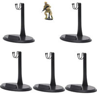 "5X Doll Stand for Hot Toys 1//6 scale 12/"" dolls and action figures Stand U Holder"