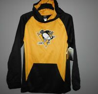 NHL Pittsburgh Penguins Hooded Pullover Youth Sizes NEW