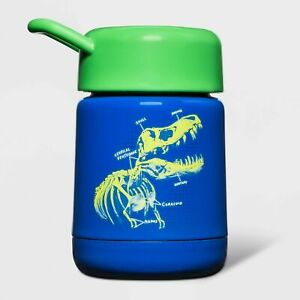 10oz Stainless Steel Food Storage Container Dino Blue - Cat & Jack-NEW