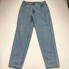 Vintage Levis 550 Relaxed Fit Blue Jeans Womens 16 Reg High Waisted Tapered