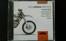 KTM REPAIR MANUAL  400-530 XC-W / EXC, 2008-2012 #3206112