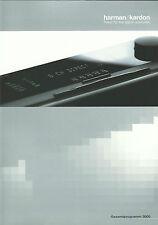 Harman/Kardon Katalog Prospekt 2000 Signature Serie / AVR7000 HK690 HK3270RDS