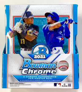 2021 Bowman Chrome Baseball - PROSPECT - Pick Your Card - Complete Your Set