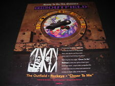 The Outfield is Ready To Go The Distance with Rockeye 1992 Promo Poster Ad mint