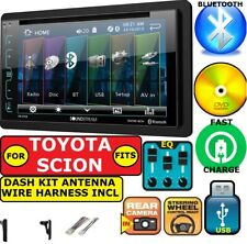 FOR TOYOTA & SCION CD/DVD BLUETOOTH USB AUX CAR RADIO STEREO PKG. OPT. REAR CAM