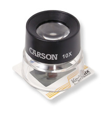 Carson LumiLoupe Series Pre-Focused Stand Magnifier Loupes (LL-10, LL-20, LL-...