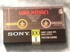 cassette tape rare retro vintage sony Walkman chrome new