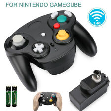 2.4G Wireless Gamecube Controller With Adapter for Retro Classic Wii GC NGC US