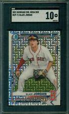 Blaze Jordan 2021 Bowman Mega Box Rookie #71 ** SGC 10 ** GEM / Red Sox Prospect