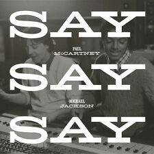 "PAUL MCCARTNEY MICHAEL JACKSON 'SAY SAY SAY' 12"" VINYL - LIMITED EDITION RSD"