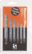Sutton Tools Masonry Drill Bit Set - 6 Piece
