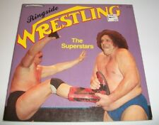 Ringside The Superstars WWF Wrestling Greats Book 1985 T.S. Walsh