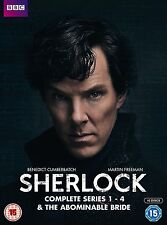 SHERLOCK HOLMES - The Complete TV Series Season 1-4 DVD BOX SET BRAND NEW