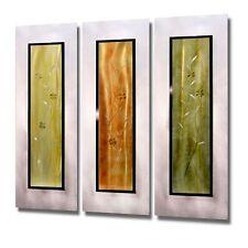 Statements2000 3D Metal Wall Art Silver Abstract Modern Accent Decor Jon Allen
