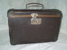 Old SUITCASE hand luggage MINI size 29 cm/20cm/8cm Brown  Unisex Adul10-8 ''